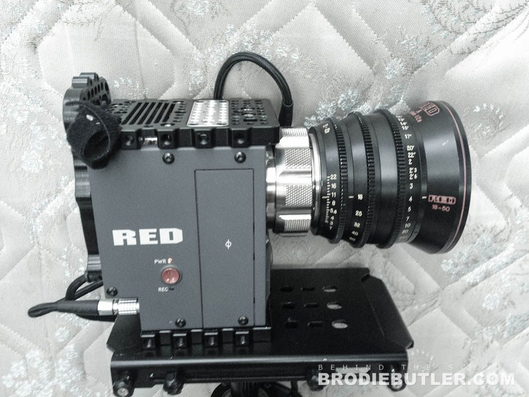 RED Scarlet on Glidecam HD4000