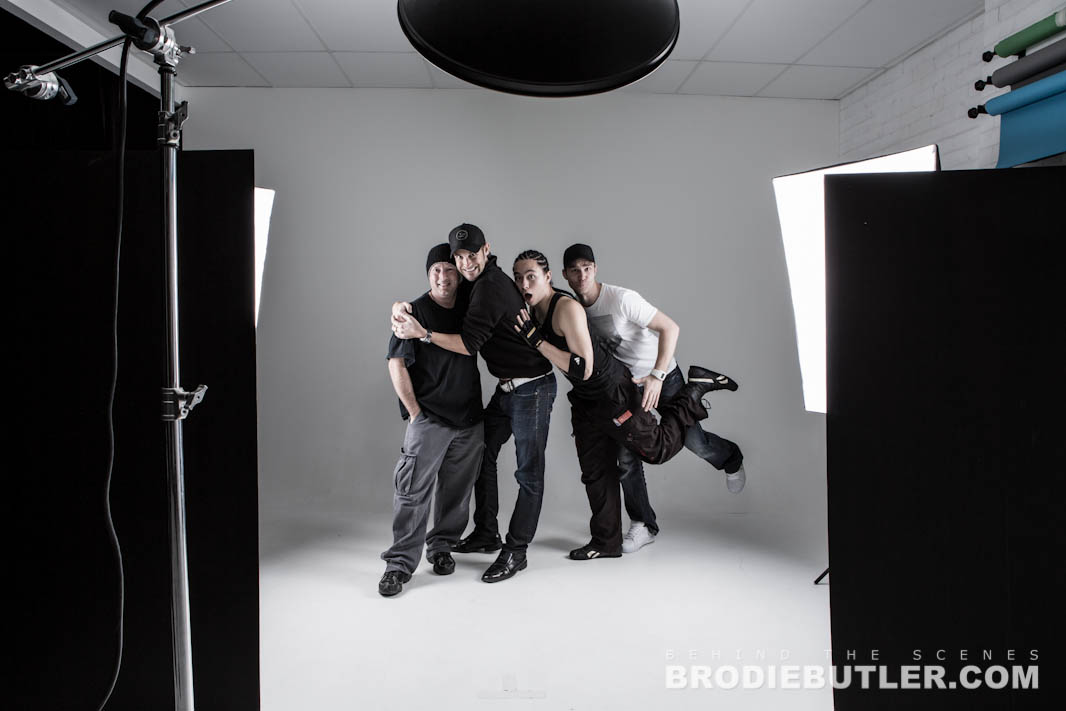 Behind The Scenes Photoshoot with A.J. Carter