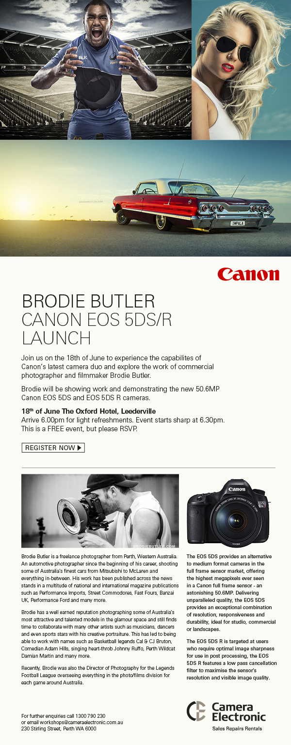 CANON EOS 5DS Launch